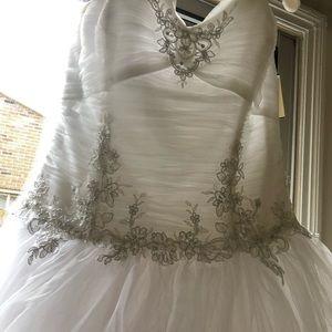 David's Bridal Wedding Dress size 12